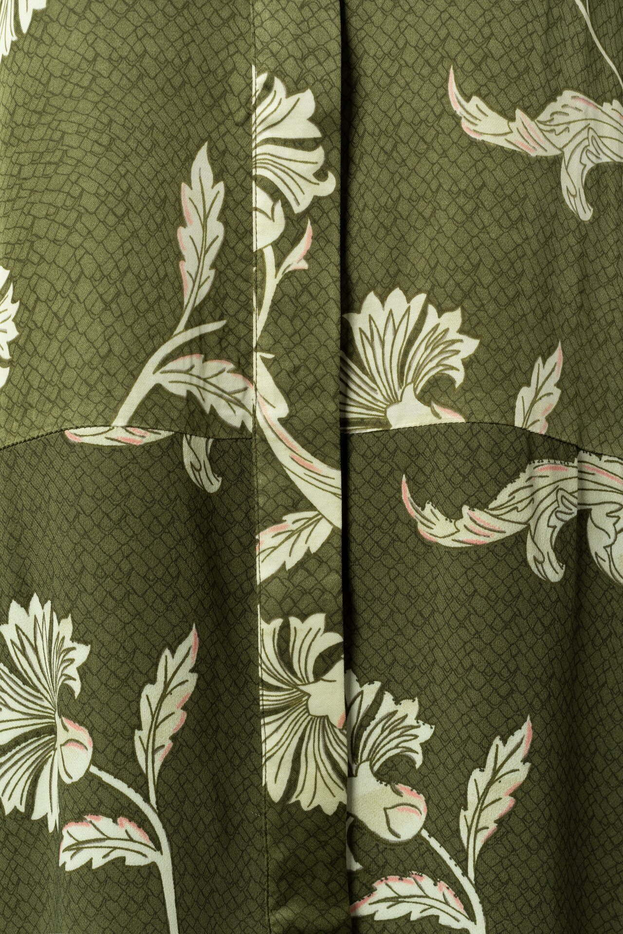Blouse Printed Fabric Mix
