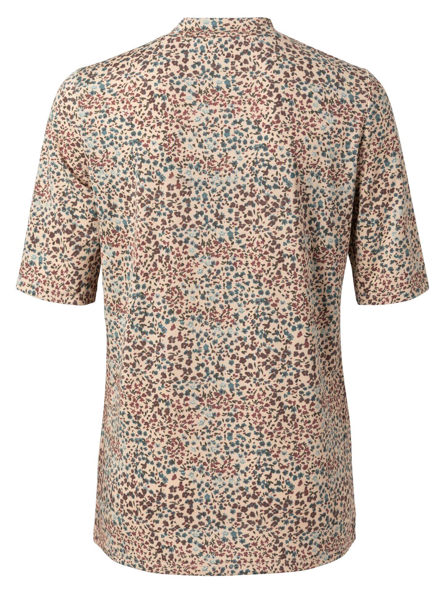 T-shirt Printed Mock Neck