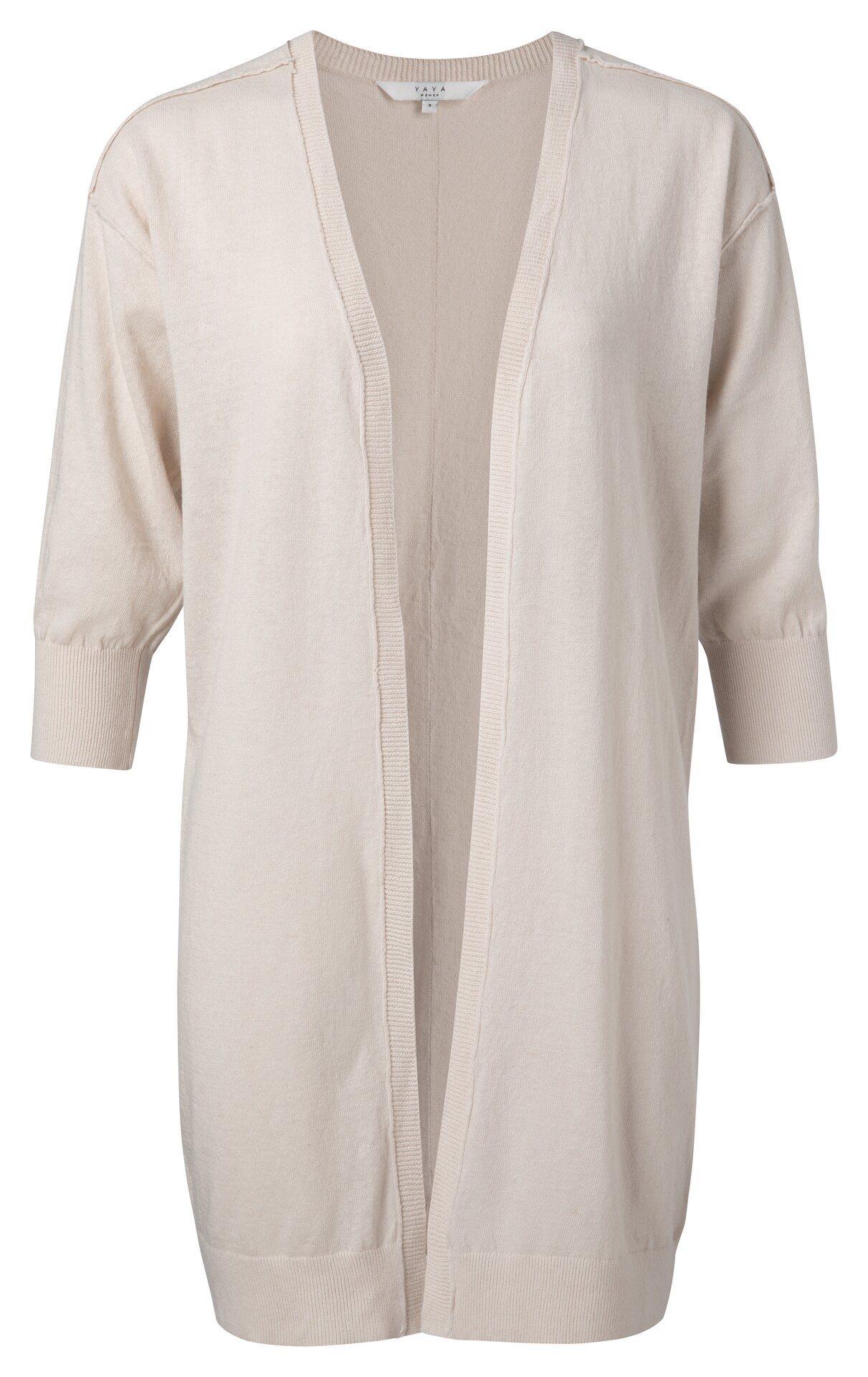 Vest Linen Cotton Blend