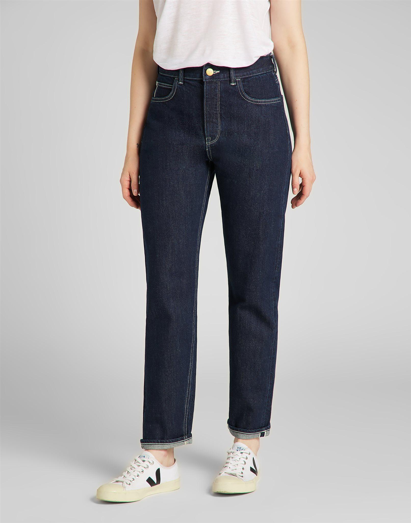 Jeans Carol Button