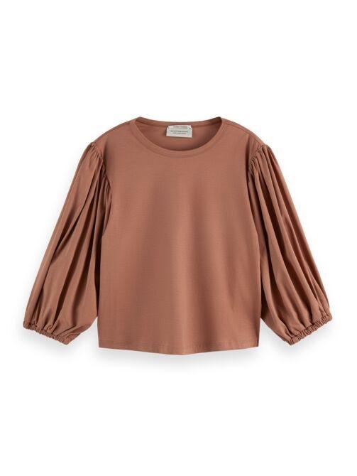 T-shirt voluminous sleeve